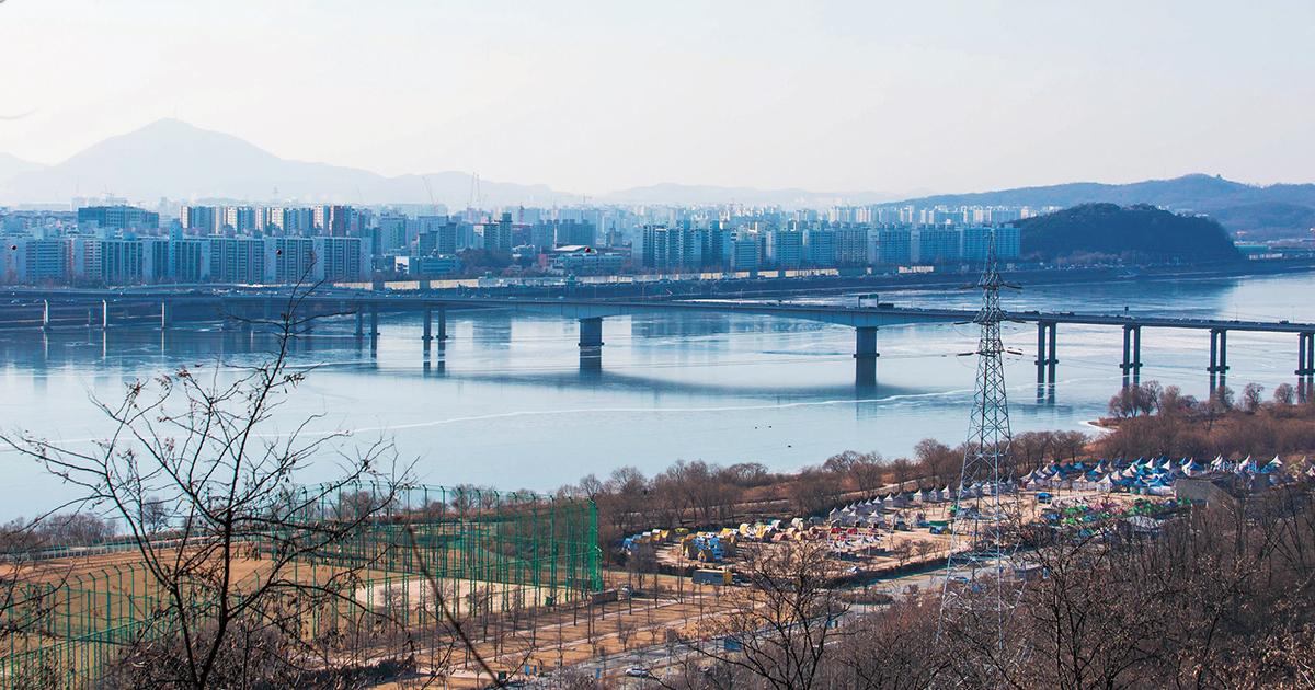 [서울 나들이]한강의 밤에 펼쳐지는 환상 시장